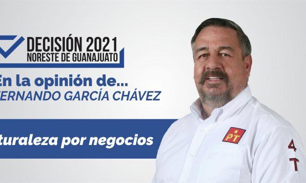 Naturaleza por negocios: en la opinión de Fernando García Chávez