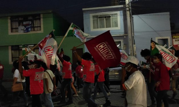 Luis Gerardo Sánchez Sánchez «Chino» realiza caminata en San Luis de la Paz para festejar a los niños