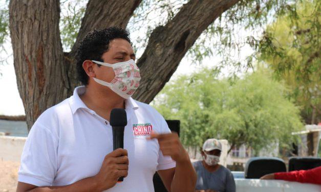 Candidato Priista continúa su campaña política en comunidades