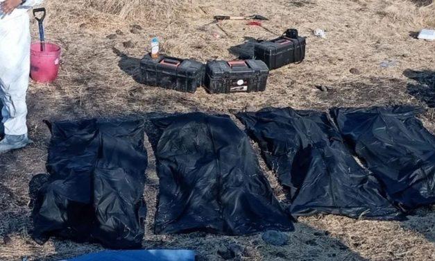 Van 26 cuerpos encontrados en fosa clandestina en Juventino Rosas