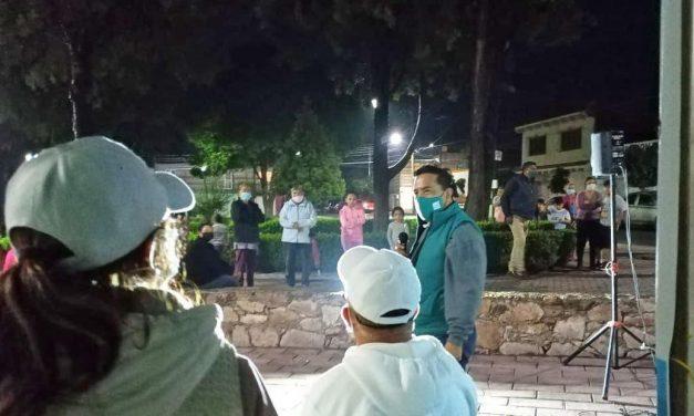 Visita Jesús Cabrera La Asunción y El Fresno y el barrio de El Depósito