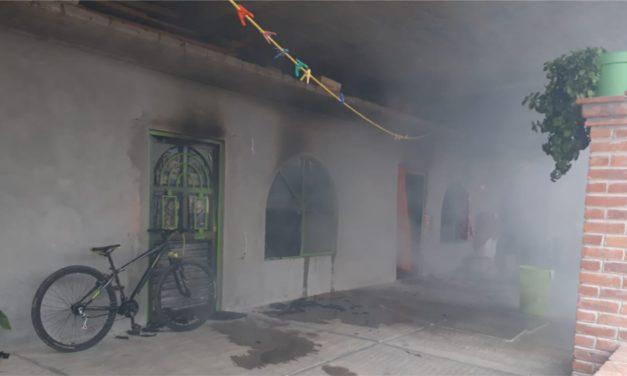 Madre y tres menores que perdieron la vida, fueron víctimas de homicidio; incendio fue intencional