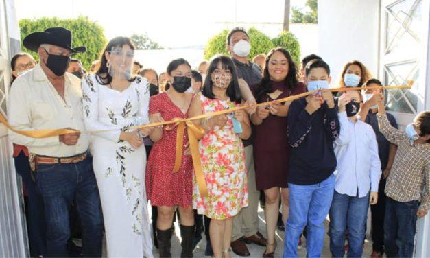 Inauguran nueva sede del Instituto de Artes Karina Pegueros en el centro de San José Iturbide