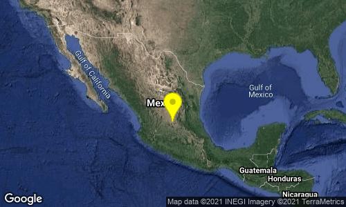 ¡Tiembla en Guanajuato! Sismo de 4.5 se origina en San Felipe