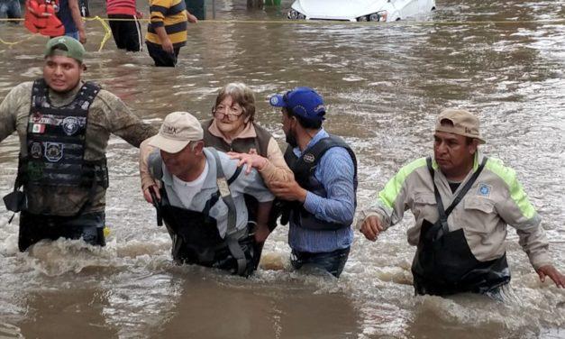 Piden autoridades de Hidalgo evacuar inmediatamente zonas aledañas al río Tula