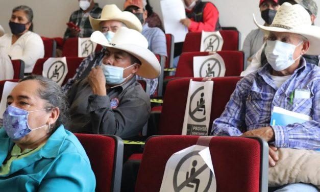 San Luis de la Paz: Autoridades municipales refrendan su compromiso con ejidatarios