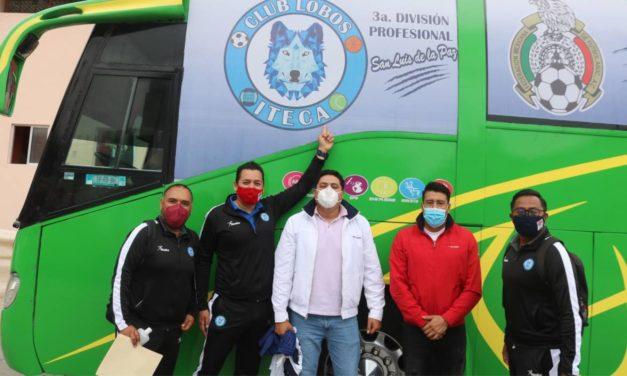 Presentan oficialmente al equipo de tercera división «Lobos ITECA» de San Luis de la Paz