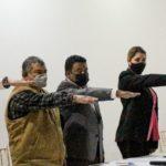 Cindy Arvizu toma protesta en Coordinación Regional de Construcción de Paz y Seguridad