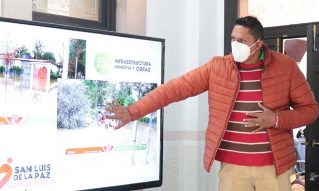 La administración ludovicense y delegación de educación vigilan protocolos sanitarios en las escuelas